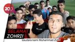 Ucapan Selamat dari Gaza untuk Zohri