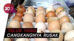 Harga Telur Selangit, Konsumen di Blitar Pilih Telur Bentesan