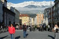 Kawasan alun-alun Innsbruck