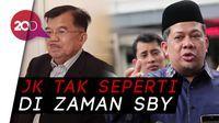 Fahri Hamzah: JK di Masa Jokowi Cuma Embel-embel Saja