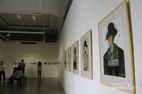 Koleksi lukisan yang ada dalam pameran.