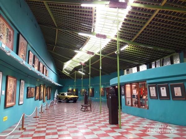 Galeri 1 memamerkan karya Affandi selama hidupnya