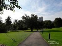 Luasnya Singapore Botanic Garden