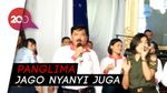 Gokil! Panglima TNI Nyanyi Lagu Sayang Via Vallen Sambil Goyang