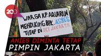 Massa Gelar Aksi di Balai Kota, Minta Anies Tidak Nyapres!