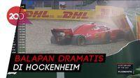Vettel Nabrak Dinding, Hamilton Juara GP Jerman