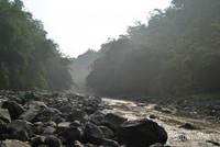 Pemandangan di sekitar aliran Sungai Lontar