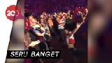 Gigi Hadid dan Ibu Zayn Malik Nonton Konser Bareng