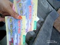 Tiket masuk hanya sepuluh ribu rupiah