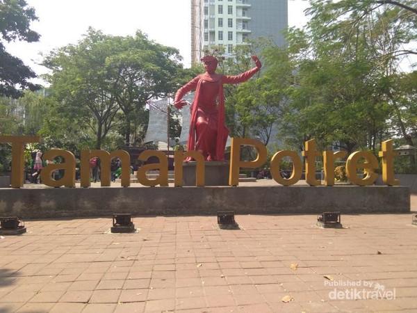 Patung Menari icon dari Taman Potret
