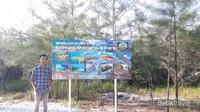 Bagian depan Belitung Mangrove Park