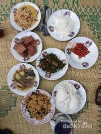 Sebagian menu makanan kami