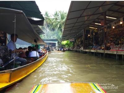 Curhat Setelah Plesir dari Pasar Terapungnya Thailand