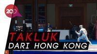 Dennis Kandas di 16 Besar Cabor Anggar Asian Games