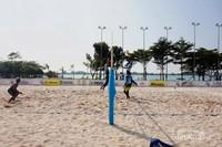 Pantai buatan dengan cara mendatangkan pasir pantai dari Babel.