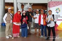 Para pemenang dan perwakilan dari Angkasa Pura II.