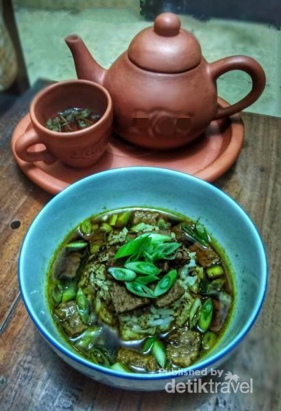 Grombyang, makanan khas kota Pemalang yang sulit ditemui di kota lain.