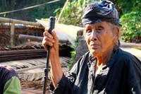 Mbah Nasinah, Warga Baduy Luar yang telah berusia 100 tahun