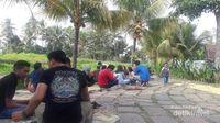 Piknik dengan suasana pedesaan