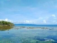 Air laut tampak Surut