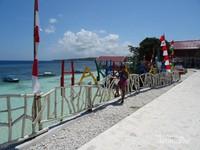 Salah satu spot instagramable di Pantai Tanjung Bira