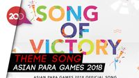 Song of Victory, Pembakar Semangat Atlet Asian Para Games 2018