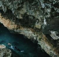 Goa Kontamale di Wakatobi berisi mata air jernih