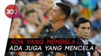 Pro dan Kontra Netizen Soal Kartu Merah untuk Ronaldo