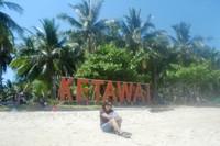 Pulau Ketawai di Pulau Bangka