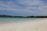 Dengan putihnya pasari pantai ini menambah kecantikan dari Pantai Tanjung Aan.