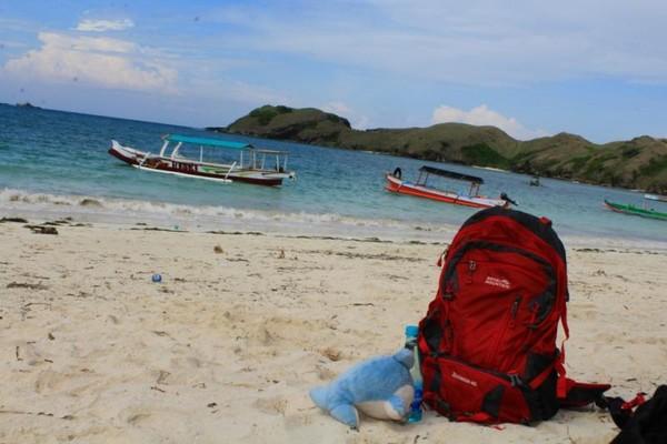 Dari Bandara Internasional Lombok (BIL) kita menempuh jarak  25,8km dengan lama tempuh 44 menit.