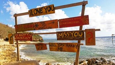Gak Kalah Sama Amerika, Ini Pantai Malibu di Bali