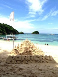 Sand Castle Boracay