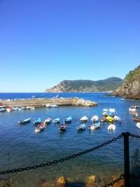 Desa nelayan di Cinque terre