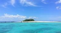 Komposisi warna yang sempurna di Pulau Badul