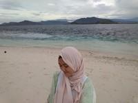Ketika pasir sedikit berwarna pink