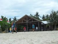 Rumah makan sederhana di Pulau Kepayang, yang siap memanjakan perut dTraveler.