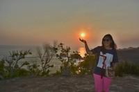 Saya dan sunset