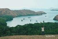 Pesona laut di Pulau Rinca