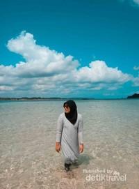 Air jernih Pulau Lengkuas