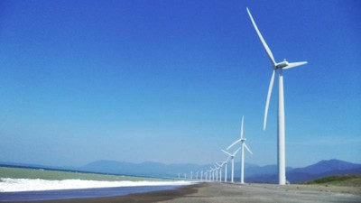 Bukan Belanda, Ini Pantai Kincir Angin di Filipina