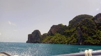Suasana pulau kecil di Phuket