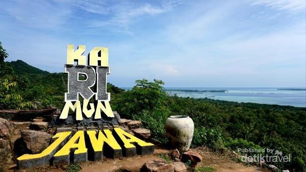 Bukit Cinta, pemandangan Karimunjawa dari atas ketinggian