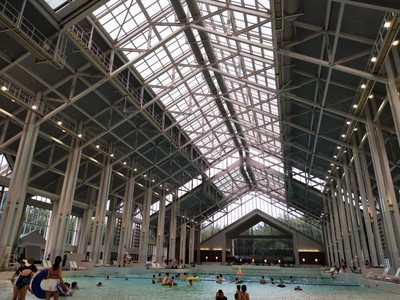Keren! Ada Pantai Indoor di Jepang