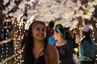 Lorong anggrek di Tanah Lot Art and Food Festival 2018