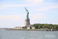 Ini patung Amerika paling popular di dunia. Siapa sangka ternyata patung ini merupakan hadiah Perancis dan dibangun oleh Gustave Eiffel.