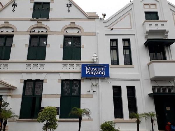 Museum Wayang terletak di kawasan Kota Tua Jakarta