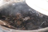 daun kopi yang di rebus