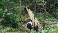 Perjalanan keluar dari Baduy Dalam