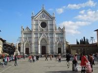 Santa Croce yang dibangun  tahun 1294